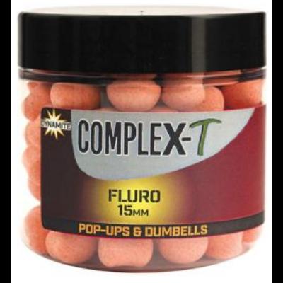 DYNAMITE BAITS COMPLEX-T FLURO POP-UPS AND DUMBELLS 15MM