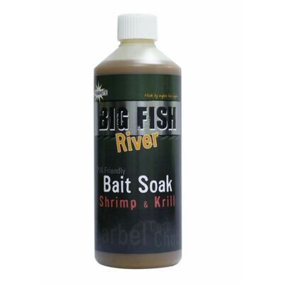 DYNAMITE BAITS BIG FISH RIVER BAIT SOAK SHRIMP KRILL 500 ML
