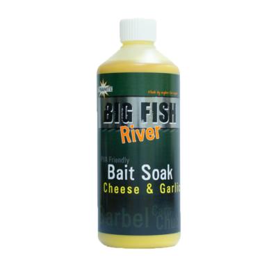 DYNAMITE BAITS BIG FISH RIVER BAIT SOAK CHEESE-GARLIC 500 ML