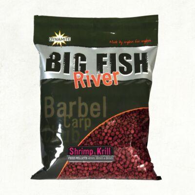 DYNAMITE BAITS BIG FISH RIVER SHRIMP KRILL 4-6-8 MM PELLETS 1,8 KG