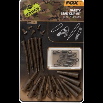 FOX EDGES CAMO SAFETY LEAD CLIP KIT