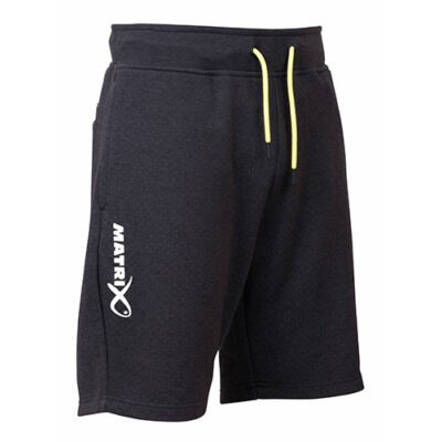 FOX MATRIX MINIMAL BLACK MARL JOGGER SHORTS