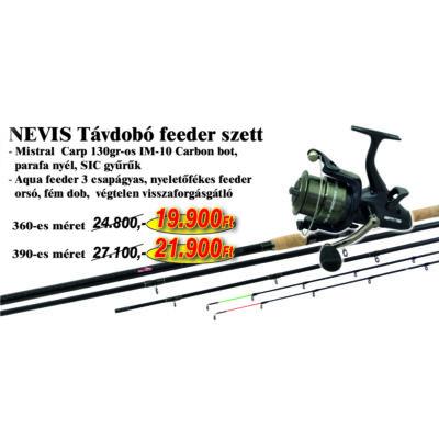 NEVIS TÁVDOBÓ FEEDER SZETT 390