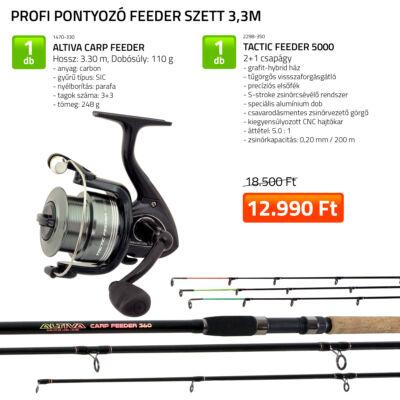 PROFI PONTYOZÓ FEEDER SZETT 330