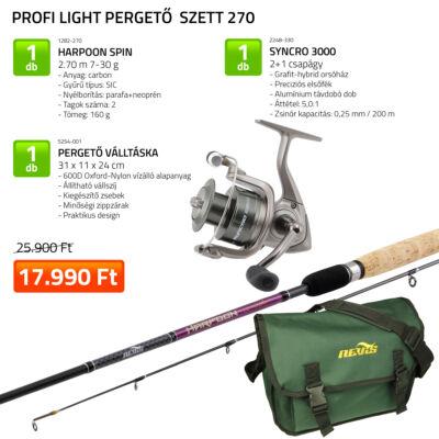 PROFI LIGHT PERGETŐ SZETT 270