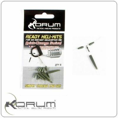 KORUM READY HELIKITS - QUICKCHANGE SWIVEL