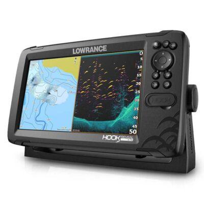 LOWRANCE HOOK REVEAL 9 TRIPLESHOT GPS