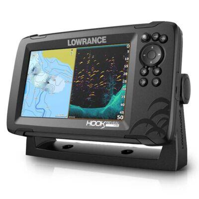 LOWRANCE HOOK REVEAL 7  TRIPLESHOT GPS