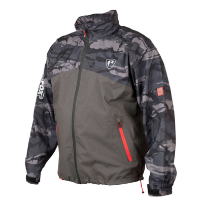 FOX RAGE RS10K RAIN JACKET - GREY CAMO