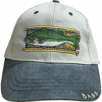 FLYING FISHERMAN BASS CAP STONE / GREEN