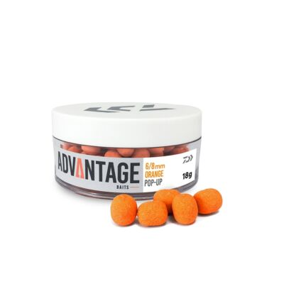 DAIWA ADVANTAGE POP UP 6/8MM ORANGE