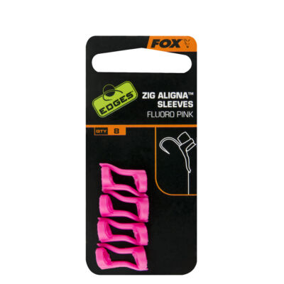 FOX ZIG ALIGNER SLEEVES × 8 FLUORO PINK