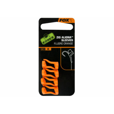 FOX ZIG ALIGNER SLEEVES × 8 FLUORO ORANGE