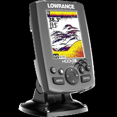 LOWRANCE HOOK 3X HUN