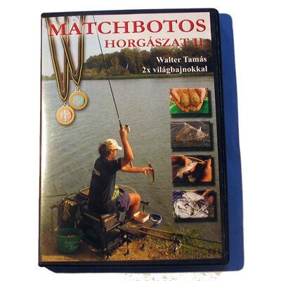 WALTER TAMÁS: MATCHBOTOS HORGÁSZAT 2. DVD