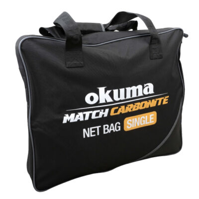 OKUMA MATCH CARBONITE NET BAG SINGLE 64x48x10CM