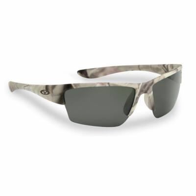FLYING FISHERMAN GLADES MATTE CAMO SMOKE