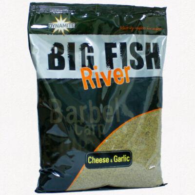 DYNAMITE BAITS ETETŐANYAG BIG FISH RIVER - CHEESE AND GARLIC 1.8 KG