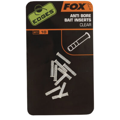 FOX EDGES ANTI BORE BAIT INSERT CLEAR