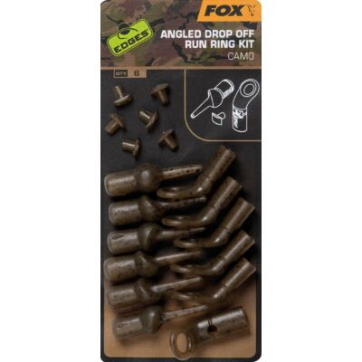 FOX EDGES CAMO ANGLED DROP OFF RUN RIG KIT