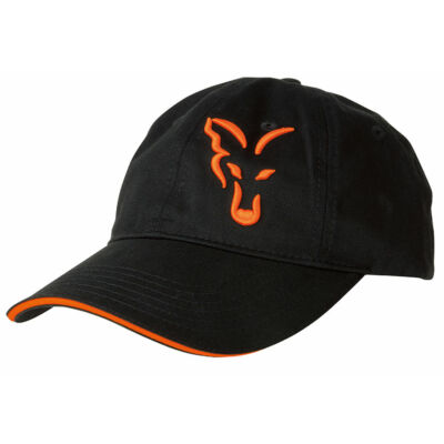 FOX BLACK ORANGE BASEBALL CAP