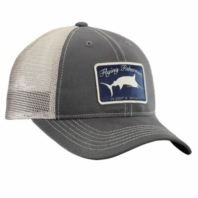FLYING FISHERMAN MARLIN TRUCKER HAT