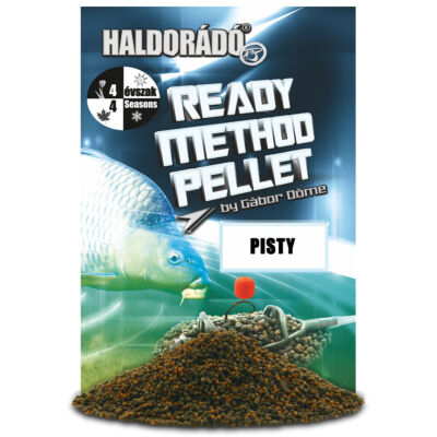 HALDORÁDÓ READY METHOD PELLET 400G - PISTY