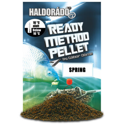 HALDORÁDÓ READY METHOD PELLET 400G - SPRING
