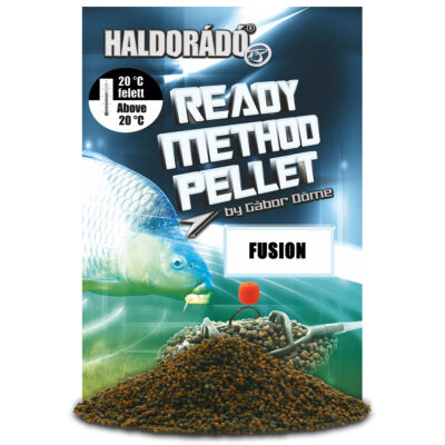 HALDORÁDÓ READY METHOD PELLET 400G - FUSION