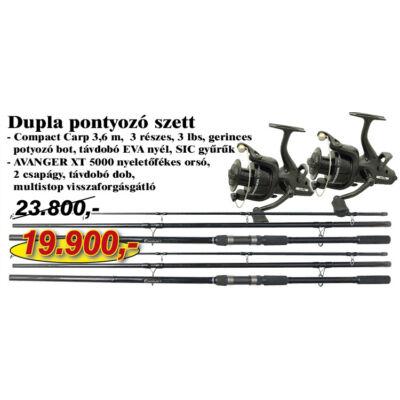 DUPLA PONTYOZÓ SZETT