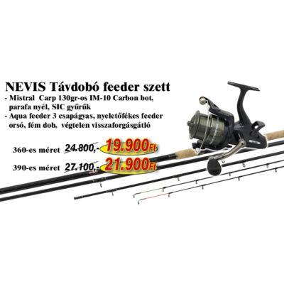 NEVIS TÁVDOBÓ FEEDER SZETT 360