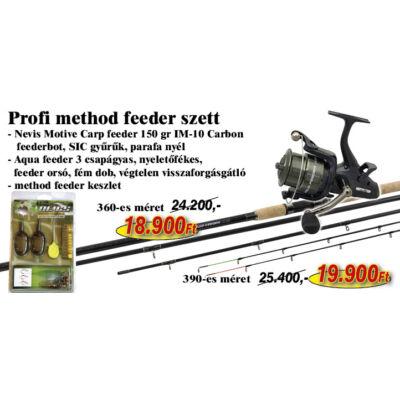 PROFI METHOD FEEDER SZETT 390