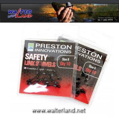PRESTON SAFETY LINK SWIVEL SIZE 6