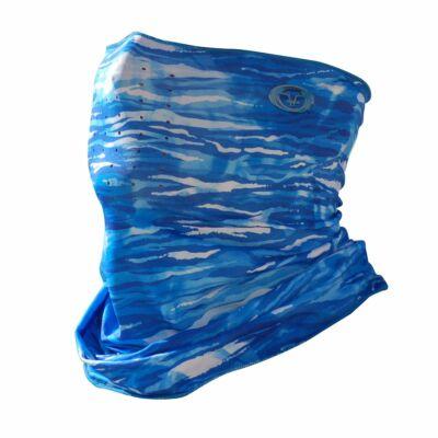 FLYING FISHERMAN BLUEWATER CAMO SUNBANDIT PRO FACE MASK