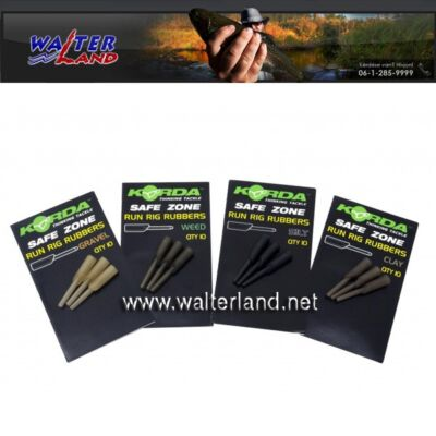 KORDA RUN RIG RUBBER WEDDY GREEN