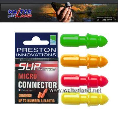 PRESTON SLIP MICRO CONNECTOR ORANGE