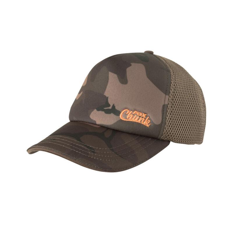 FOX CHUNK CAMO MESH BACK BASEBALL CAP - Sapka - WalterLand horgász ... 1daaf206b0